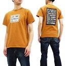 フェローズTシャツ19S-PT7Pherrow'sPherrowsメッセージロゴメンズ半袖tee新品