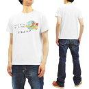 BuzzRicksonT-shirtMen'sShortSleeveBomberBaronsMilitaryGraphicLoopwheeledTeeBR78346