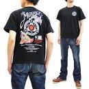 サムライジーンズTシャツSJST19-106剣術士柄SamuraiJeansメンズ和柄半袖tee新品SamuraiJeansT-shirtMen'sShortSleeveJapaneseGraphicArtTeeSJST19-106