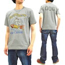 トイズマッコイTシャツTMC1906バッグス・バニーTOYSMcCOYメンズ半袖Teeワビットトワンジット・ノーズアート新品TOYSMcCOYT-shirtMen'sShortSleeveBugsBunnyandWabbitTwansitMilitaryStyleGraphicLoop-wheeledTeeTMC1906