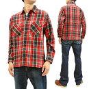 シュガーケーンSC28237ツイルチェックワークシャツ東洋メンズ長袖シャツネルシャツ新品SugarCanePlaidLongSleeveShirtMen'sCasualBrushedTwillWorkShirtSC28237