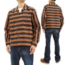 スタイルアイズSE28258コーデュロイスポーツシャツ東洋エンタープライズメンズ長袖シャツネップ&ストライプス新品StyleEyesCorduroySportShirtMen'sLongSleeve1950sStyleNepStripeSE28258