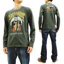 トイズマッコイ長袖TシャツTMC1947USAAFKing'sXTOYSMcCOYメンズロンtee新品TOYSMcCOYT-shirtMen'sLongSleeveMilitaryGraphicLoop-wheeledTeeTMC1947