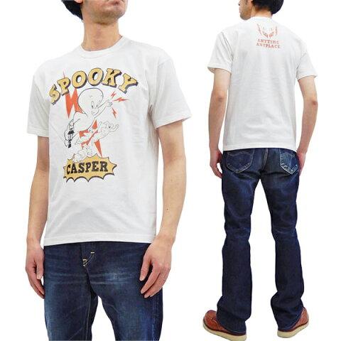 トイズマッコイ Tシャツ TMC2009 TOYS McCOY キャスパー Casper メンズ 半袖tee オフ白 新品