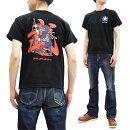 サムライジーンズTシャツSJST20-102和柄武者絵SamuraiJeansメンズ半袖tee新品SamuraiJeansT-shirtMen'sLoop-wheeledShortSleeveJapaneseArtTeeSJST20-102MadeinJapan