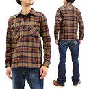 サムライジーンズネルシャツSNL20-013つ杢ツイードチェックネルワークシャツメンズ長袖シャツ新品SamuraiJeansPlaidFlannelShirtMen'sCheckedLongSleeveWorkShirtSNL20-01MadeinJapan