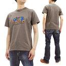フェローズTシャツ21S-PT12Pherrow'sPherrowsメンズアメカジ半袖tee新品Pherrow'sT-ShirtMen'sLoopwheeledShortSleeveGraphicTeePherrows21S-PT12