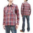 フェローズチェックネルシャツ21W-720WSPherrow'sPherrowsメンズワークシャツ長袖シャツ新品Pherrow'sPlaidFlannelShirtMensLongSleeveCheckedButtonUpShirtPherrows21W-720WSMadeinJapan