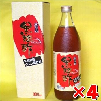 八重泉「黒麹酢」(もろみ酢)900ml入×4本・石垣島産送料無料
