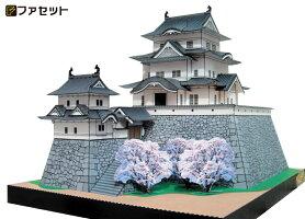 本格的な作りのペーパークラフト伊賀上野城