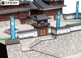 本格的な作りのペーパークラフト福知山城
