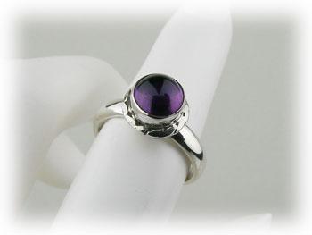 リング アメジスト 紫水晶 アメシスト シルバー925 ARJ-006-AT-7号