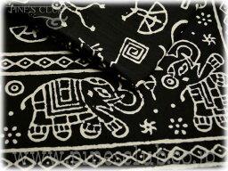 マルチカバー ブロックプリント インド 更紗 シングルサイズ CBC-0229