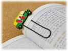 (M)【インド直輸入】オートリキシャのブックマーク/CNG仕様/KZZ-003/インドのお土産/しおり/インド雑貨/アジアン雑貨/エスニック/