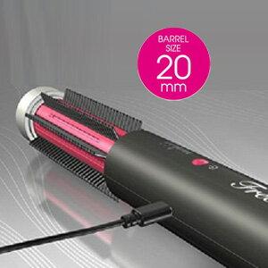 【即出荷】【送料無料】コードレスヘアロールブラシ Free Salon-S フリーサロンS 専用ポーチ付き USB充電式