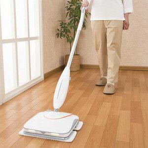 11月上旬入荷予定/電動モップ 替えモップ付き 【送料無料・代引料無料】【コードレス電動クリーナー ビートモップ El-80296】 拭き掃除 床掃除 充電式