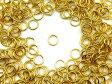 丸カン ゴールド 4mm 100個 ハンドメイド 手芸 パーツ アクセサリーパーツ 材料 素材