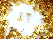 ゴールド シリコン キャッチ アクセサリー