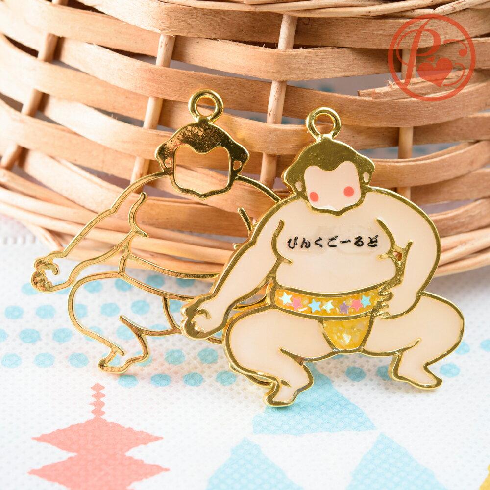 レジン枠 お相撲さん 力士 1個 力士 レジン パーツ 空枠 ハンドメイド 材料