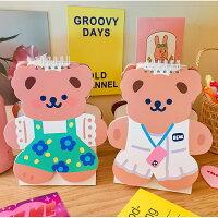 【milkjoy】可愛いクマさんの2021年卓上カレンダー(全4種)