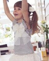 ナチュラルさが穏やかで女の子らしい可愛い夏子供服