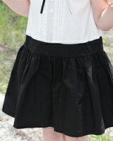 可愛い子供服白黒ワンピース