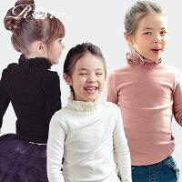あったか可愛い子供服Roraタートルネックtシャツ