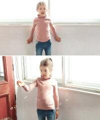 大人顔負けのスタイリング子供タートルネックtシャツ