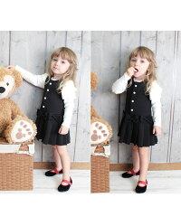 とても上品とても可愛い子供服ジャンパースカート
