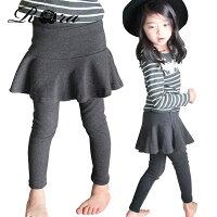 子供服おしゃれスカート付きレギンス