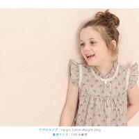 ふんわりフレアがとっても可愛い子供服ノースリーブ