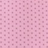 麻の葉模様 模様サイズSS 40×45mm ローズピンク 幅110cm 長さ10cm オックス生地 / 布 綿100% ぴんく 桃 もも モモ 手作り ハンドメイド材料 資材 【ゆうパケット対応】