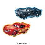 【DISNEY】ディズニーキャラクター 「カーズ」2個付きワッペンライトニング・マックィーン  ジャクソン・ストームシール・アイロン接着両用タイプ入園・入学準備に