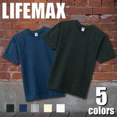 LIFEMAX10.2オンススーパーヘビーウェイトTシャツストリートカジュアル