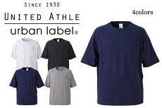 5008-01 5.6ozビッグシルエットTポケ付 ユナイテッドアスレ Tシャツ カジュアル United Athle