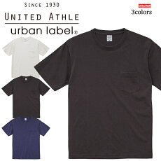 5029-015.6オンスピグメントダイTシャツ(ポケット付)UnitedAthleユナイテッドアスレカジュアル