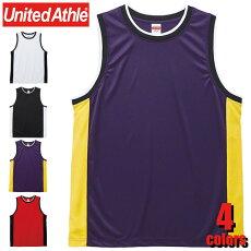5925-014.1オンスドライバスケットボールシャツUnitedAthleユナイテッドアスレゲームシャツビブスストリートB系ヒップホップダンスカジュアルスポーツイベント90sスタイル