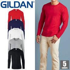 GILDANアダルト長袖Tシャツ76400ギルダンロングスリーブ長袖ロンTカジュアル無地