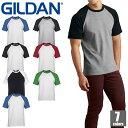 GILDAN ギルダン アダルトラグランTシャツ 76500 無地 ティシャツ カジュアル 1