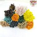 日本製フラワーペップオタフクバラペップ約2.5mm約144本花芯手作りハンドメイド花造花花資材おしべめしべつまみ細工