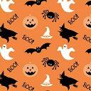 Duni Consumer 可愛い ペーパーナプキン デコパージュ ☆ハロウィン パンプキン かぼちゃ おばけ スパイダー 魔女☆(Halloween Ghosts)(1枚/バラ売り) 1