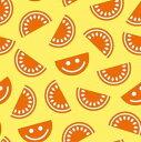 Papstar 可愛い ペーパーナプキン デコパージュ お子様・子供におすすめ☆イラスト風スイカ オレンジ イエロー☆(Watermelon)(1枚/バラ売り)