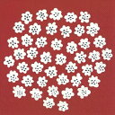 marimekko マリメッコ 可愛い ペーパーナプキン デコパージュ☆PUKETTI dark red プケッティ 花束 花柄 ダークレッド 赤色☆(1枚/バラ売り)