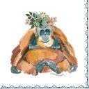 Paper+Design 可愛い ペーパーナプキン デコパージュ お子様・子供におすすめ☆おしゃれなオラウータン 猿 動物☆(Orangutan)(1枚/バラ売り)