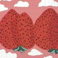 marimekkoマリメッコ可愛いペーパーナプキンデコパージュ☆MANSIKKAVUORETroseマンシッカヴォレット☆(1枚/バラ売り)