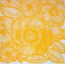 marimekko マリメッコ 可愛い ペーパーナプキン デコパージュ☆KURJENPOLVI yellow☆(20枚入り)