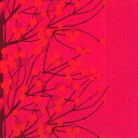 marimekko マリメッコ 可愛い ペーパーナプキン デコパージュ☆LUMIMARJA red☆(1枚/バラ売り)
