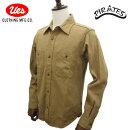 UES/ウエス/オリジナルコットン/ムラサテン/ワークシャツ/501956