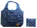 キャラクター エコバッグ ・ミッキーマウス(ストライプ・紺)(エコバック 折りたたみ 折り畳み たためる おしゃれ かわいい 買い物袋 コンパクト ナイロンバッグ ショッピングバッグ )【ゆうパケット(メール便)OK】