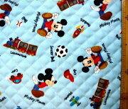 キャラクター キルティング ミッキーマウス ディズニー